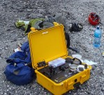 The Terra Portable XRD instrument deployed in the field.